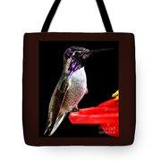 Hummingbird Male Anna Tote Bag