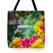 Hummingbird Moment Tote Bag