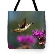 Hummingbird Moving Along Tote Bag