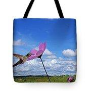 Hummingbird Panorama Tote Bag