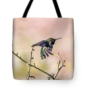 Hummingbird Stretch Tote Bag