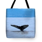 Humpback In Monterey Tote Bag
