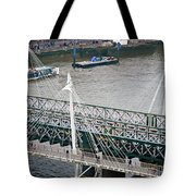 Hungerford Bridge Tote Bag