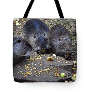 Hungry Critters Tote Bag