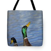 Hungry Duck Tote Bag