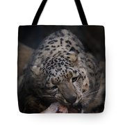 Hungry Leopard Tote Bag