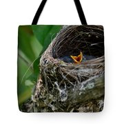 Hungry Mouth Tote Bag