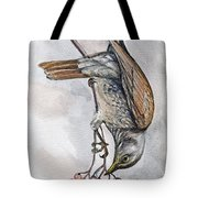 hungry Thrush 1 Tote Bag