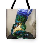 Hunt For The Unicorn On A Full Moon Tote Bag by Genevieve Esson