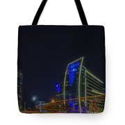 Hunt Oil And Museum Tower Tote Bag