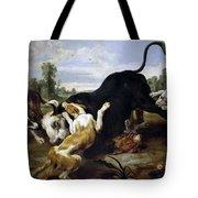 Hunted Bull Tote Bag