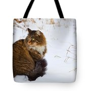 Hunter Tote Bag by Theresa Tahara