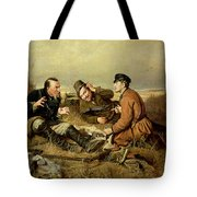 Hunters, 1816 Tote Bag