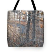 Hunters Warming Hut Tote Bag