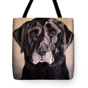Hunting Buddy Black Lab Tote Bag