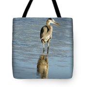 Hunting Great Blue Heron Tote Bag