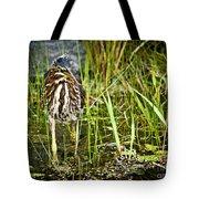 Hunting Heron Tote Bag