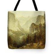 Hunting In Yosemite Tote Bag