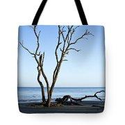 Hunting Island Graveyard Tote Bag