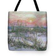 Hunting Island Sea Oats Tote Bag