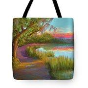 Hunting Island Sunset Tote Bag