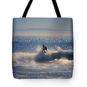 Huntington Beach California Surfer Tote Bag