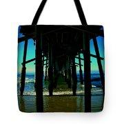 Huntington Beach Pier Tote Bag