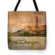 Huntly Power Station Tote Bag