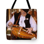 Hurdy Gury Man Tote Bag