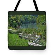 Huron River Bend Tote Bag