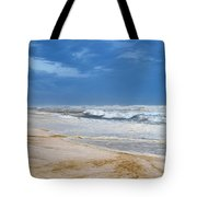 Hurricane Isaac Impacts Navarre Beach Tote Bag