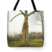 Hurricane Katrina Resurrection Tree Tote Bag