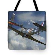 Hurricane Victory Tote Bag