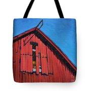 Hurricane Window Tote Bag