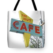 Hut Cafe Tote Bag