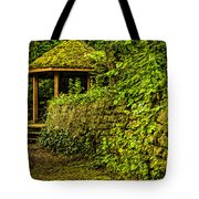 Hut In The Forest Tote Bag