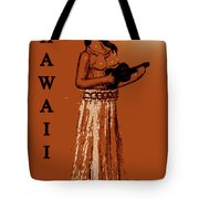 Travel To The Aloha State Tote Bag