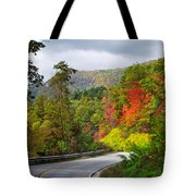 Hwy 281 In The Fall  Tote Bag