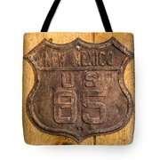 Hwy 85 Nm Sign Tote Bag