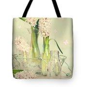 Hyacinth Arrangement Tote Bag