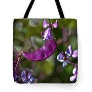 Hyacinth Bean Tote Bag