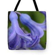 Hyacinth Closeup Tote Bag