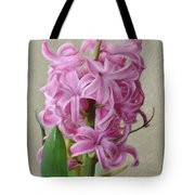 Hyacinth Pink Tote Bag
