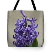 Hyacinth Purple Tote Bag
