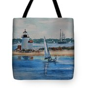 Hyannis Harbor Tote Bag