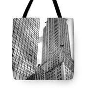 Hyatt And Chrysler Tote Bag