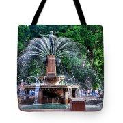 Hyde Park Fountain Tote Bag