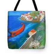 Hydra Island Tote Bag