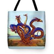 Hydra On Beach Tote Bag