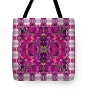 Hydrangea Abstract Tote Bag